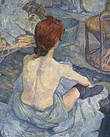 Woman at Her Toil, 1896, toulouselautrec