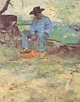 The Young Routy Céleyran, 1882, toulouselautrec
