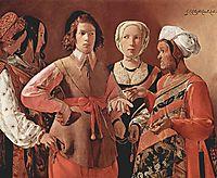 The Fortune-Teller, c.1635, tour