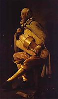 The Hurdy-Gurdy Player , 1625, tour