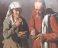 The Porridge Eaters, c.1625, tour