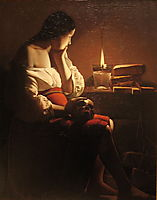 Repenting Magdalene, also calledMagdalene in a Flickering Light, c.1637, tour
