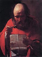 St. Jerome Reading, 1623, tour