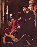 St. Sebastian Tended by St. Irene, c.1649, tour