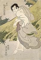 Actor Bando Mitsugoro III as Seigen, 1814, toyokuni