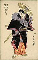 Actor in Role, c.1810, toyokuni