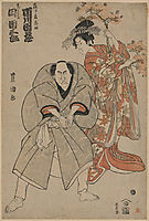The Actors Ichikawa Danzō And Ichikawa Danzaburō, c.1799, toyokuni