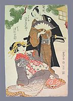 Chushingura scene, 1811, toyokuni