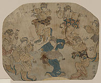 Dance, c.1814, toyokuni