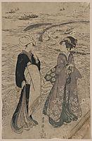 Fishing net, c.1800, toyokuni