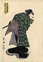 Iwai Hanshiro, c.1820, toyokuni