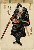 Nakamura Utaemon, c.1810, toyokuni
