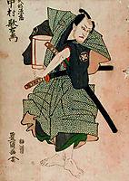 Utaemon Nakamura III as Genzō Takebe by Toyokuni Utagawa I, c.1801, toyokuni