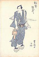 Matsumoto Kinsho (aka Matsumoto Koshiro V), c.1820, toyokuniii