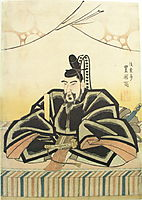 The scholar Sugawara no Michizane, c.1825, toyokuniii