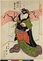 Segawa Kiku-no-jo Okiwa, 1825, toyokuniii