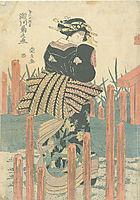 Segawa Kikunojo V as Onnagata, c.1820, toyokuniii