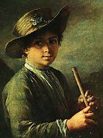 Boy with zhaleyka, tropinin