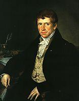 Diomede V. Kiselev, 1834, tropinin