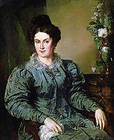 EV Meshkov, née. Bilibin, 1832, tropinin