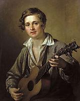 Guitarist, 1823, tropinin