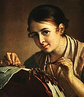 The Lacemaker, tropinin