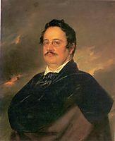 Nikolai Nikolajevitj Rajevskij, 1842, tropinin
