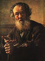 Old beggar, 1823, tropinin