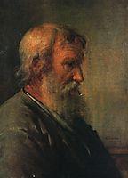 The old man farmer, 1825, tropinin