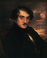 Portrait of Alexander Fedorovich Zaikin. Etude, 1837, tropinin