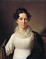 Portrait of the artist-s sister VATropinin, 1825, tropinin