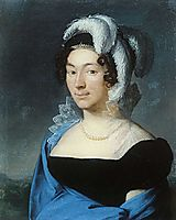 Portrait Botsigetti, 1818, tropinin