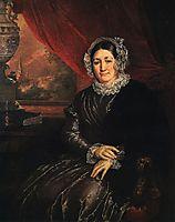 Portrait of E. P. Protasyeva, tropinin