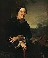 Portrait of E.A. Selivanovskaya, 1852, tropinin