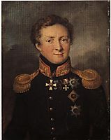 Portrait of General AI Gorchakov, tropinin