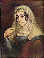 A portrait of a Georgian woman, tropinin