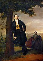 Portrait of A.I. Baryshnikov, 1829, tropinin