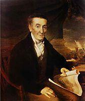 Portrait of I. L. Lazarev, 1822, tropinin