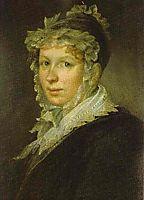 Portrait of A. I. Tropinina, the Artist`s Wife, 1809, tropinin