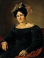 Portrait of a P.I. Sapozhnikova, 1826, tropinin