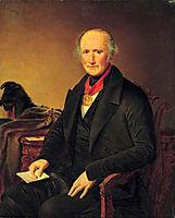 Portrait of a P.I. Sorokoumovskogo, tropinin