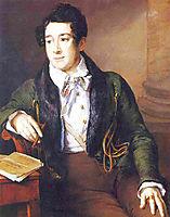 Portrait of Prince Alexander S. Dolgorukov, tropinin