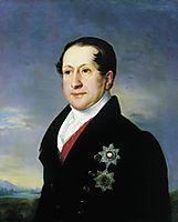 Portrait of Prince Golitsyn, 1828, tropinin