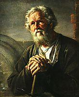Portrait of S. K. Sukhanov, 1823, tropinin