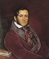 Portrait of Semyon Nikolayevich Mosolov, 1836, tropinin