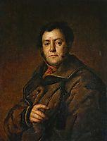 Portrait of V.M. Yakovlev, 1830, tropinin