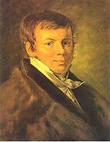 Portrait of V.S. Eneva, 1810, tropinin