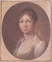 Tropinin Anna Ivanovna, 1810, tropinin