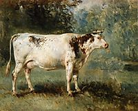 A Cow in a Landscape, troyon