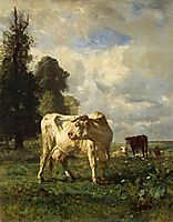 Cows in the Field, 1852, troyon